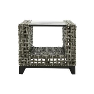Fortuna Gray Side Table