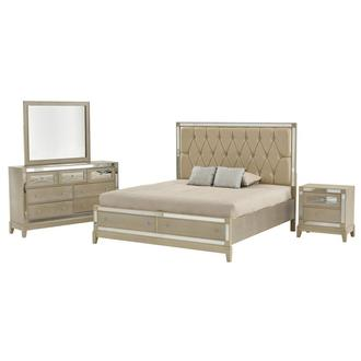 Mirror 4-Piece King Bedroom Set