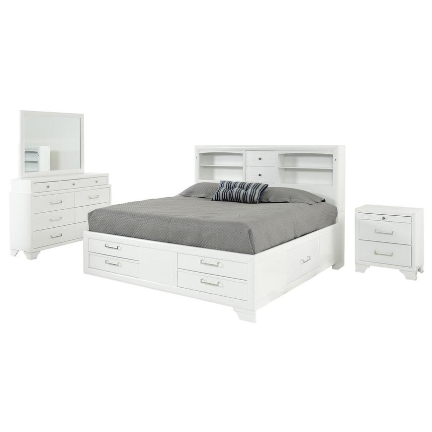 Jordyn 4-Piece Queen Bedroom Set  main image, 1 of 5 images.