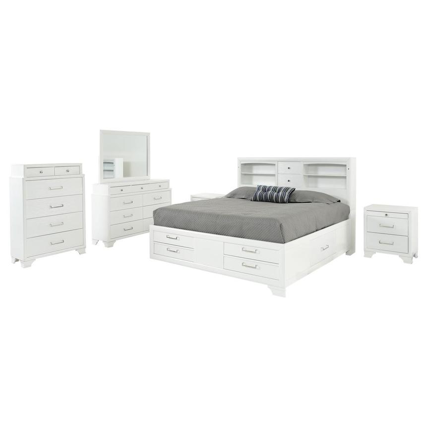 Jordyn 6-Piece Queen Bedroom Set  main image, 1 of 6 images.