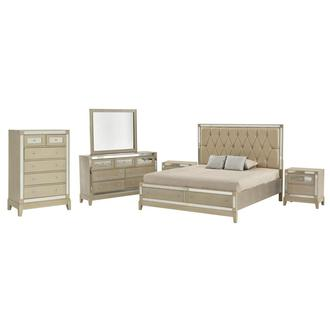 Mirror 6-Piece Queen Bedroom Set