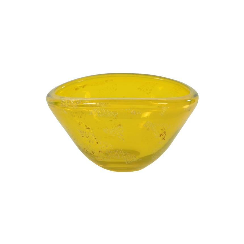 Euphoria Yellow Glass Bowl  main image, 1 of 5 images.