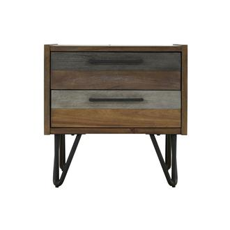 Sandy Gray Nightstand