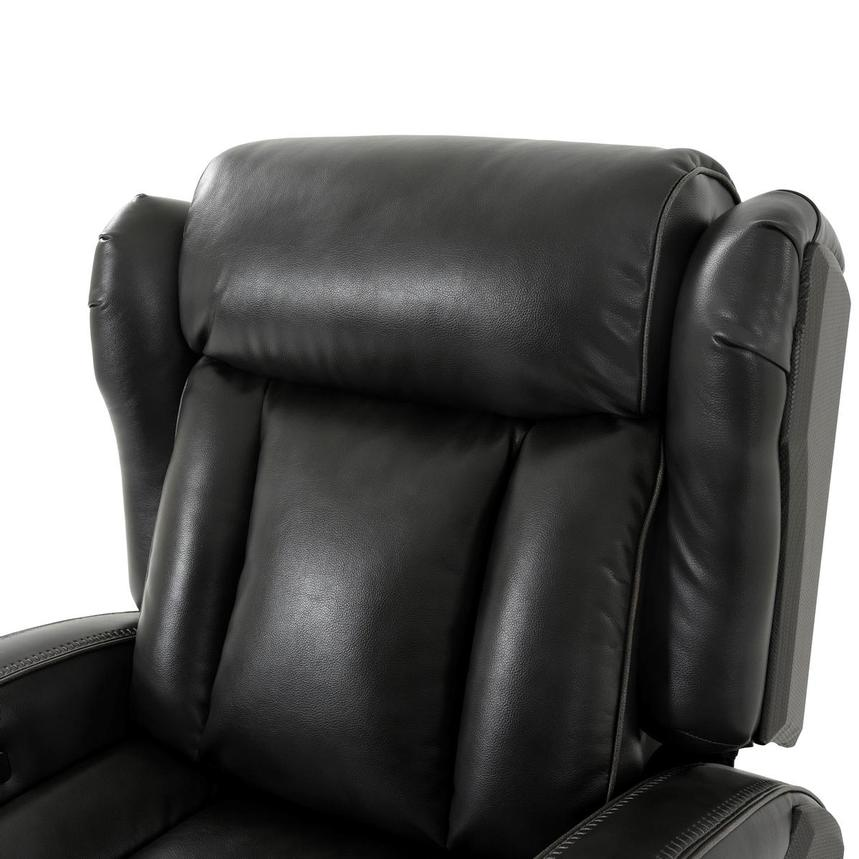 Pronto Gray Power Recliner  alternate image, 6 of 10 images.