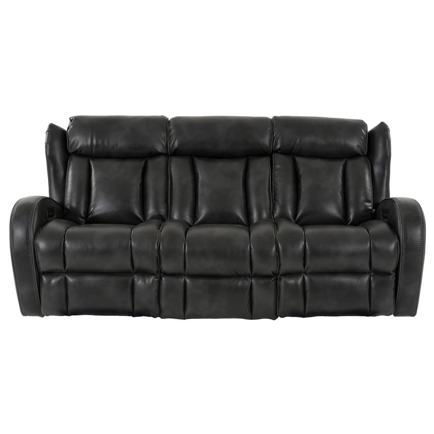 Pronto Gray Power Reclining Sofa  main image, 1 of 14 images.