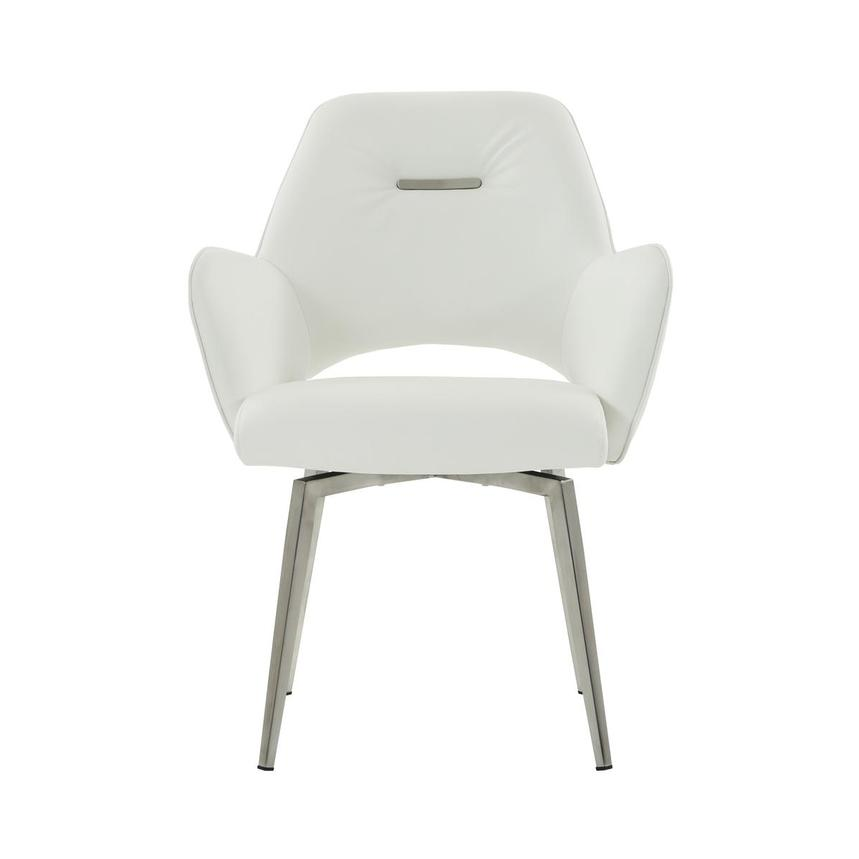 Finley White Side Chair  main image, 1 of 6 images.