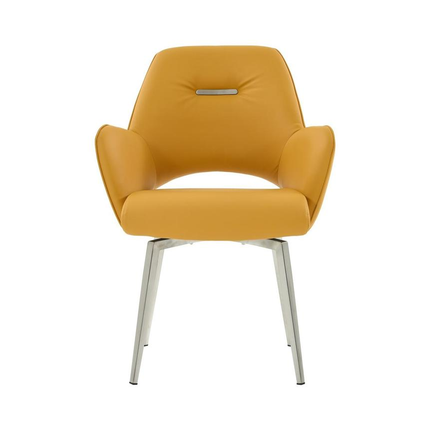 Finley Yellow Side Chair  main image, 1 of 6 images.