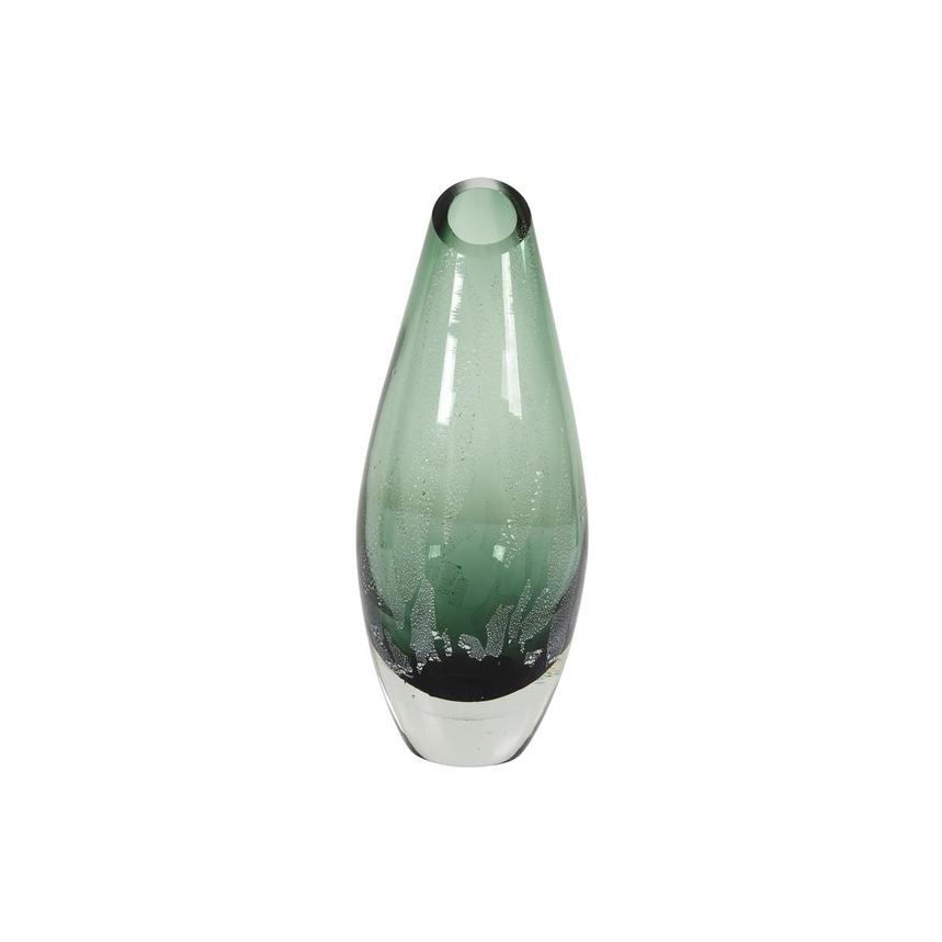 Euphoria Green Small Glass Vase  main image, 1 of 5 images.