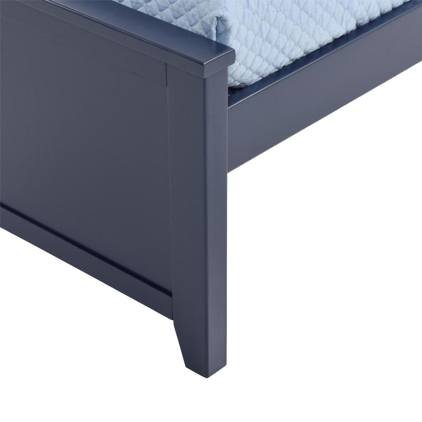 Haus Blue Twin Panel Bed  alternate image, 6 of 6 images.
