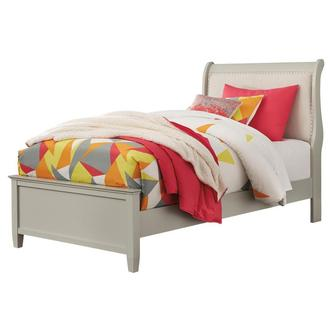 Pelton Twin Sleigh Bed