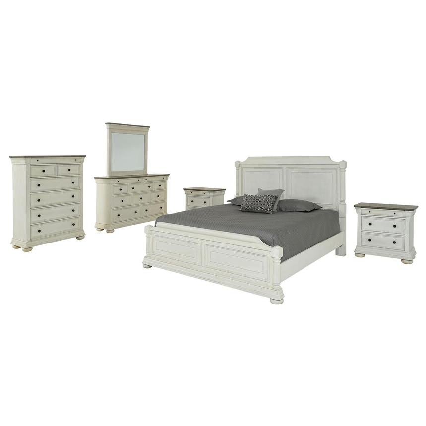 Willow 6-Piece King Bedroom Set  main image, 1 of 7 images.