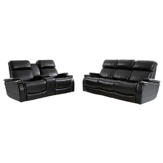 Obsidian Living Room Set