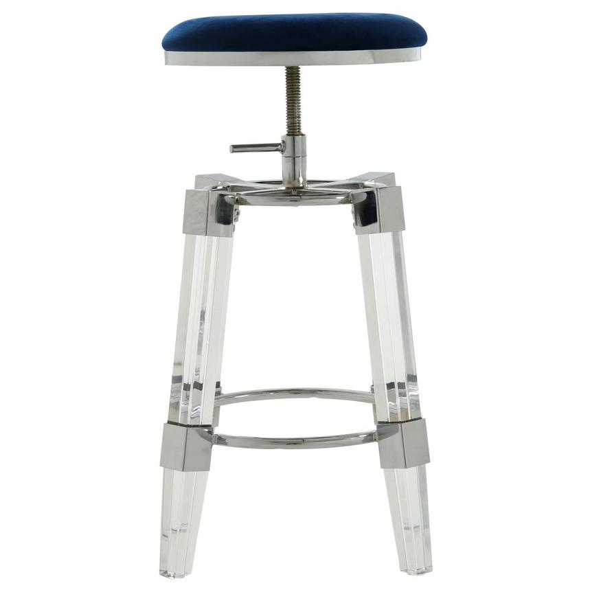 Julie Blue Adjustable Stool  alternate image, 2 of 3 images.
