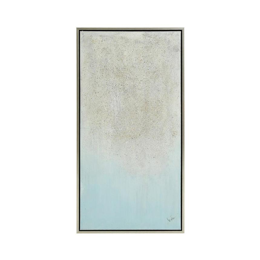 Light Blue Canvas Wall Art  main image, 1 of 4 images.