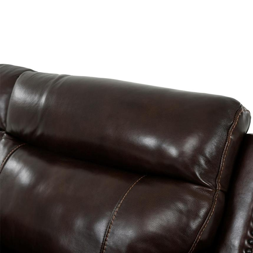Billy Joe Leather Power Reclining Sectional  alternate image, 7 of 12 images.