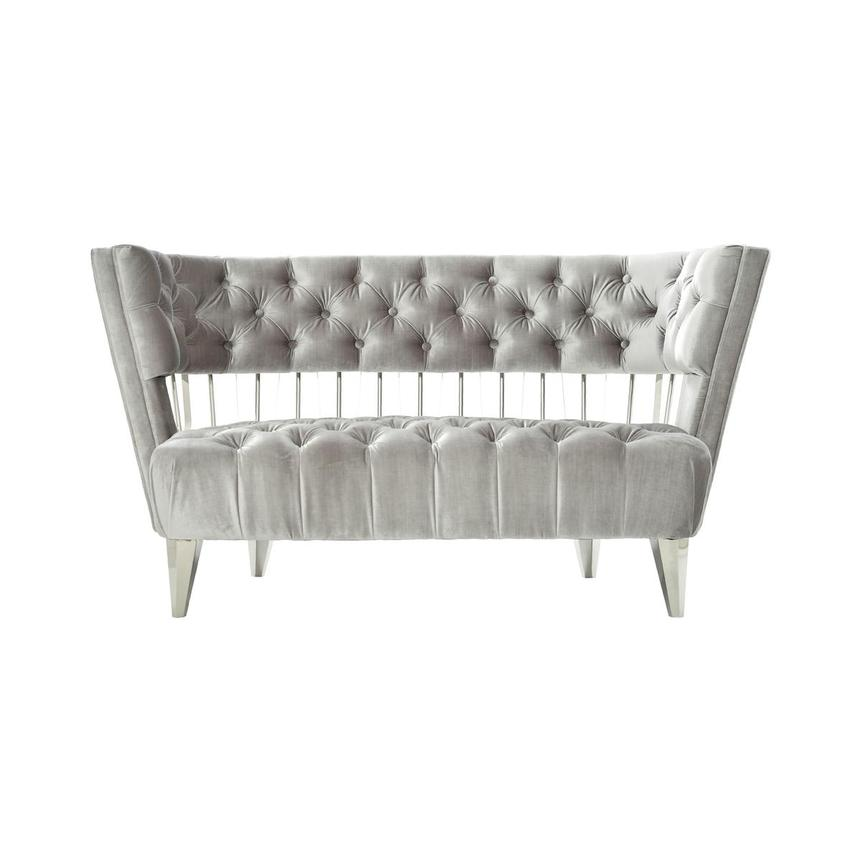 Brody Gray Loveseat  main image, 1 of 7 images.