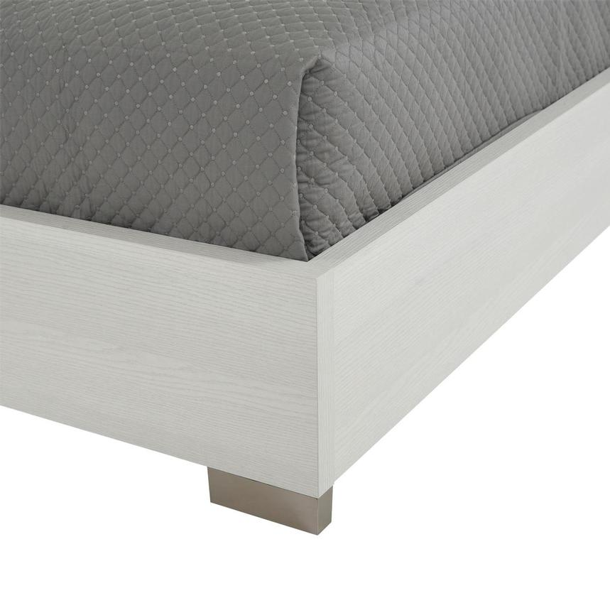 Tivo White Queen Platform Bed Made in Italy  alternate image, 6 of 6 images.