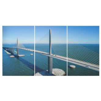 St. Pete Set of 3 Acrylic Wall Art