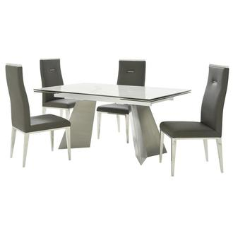 Imperium/Hyde I Gray 5-Piece Dining Set