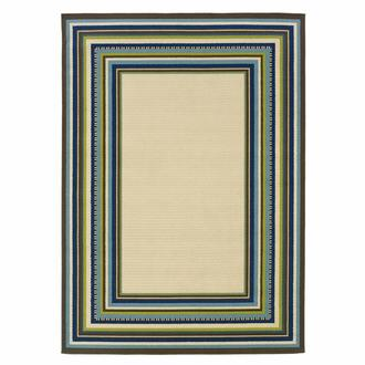 Caspian Frame 8' x 10' Indoor/Outdoor Area Rug