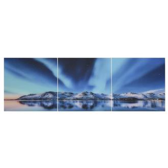 Northern Lights Set of 3 Acrylic Wall Art