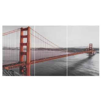 San Fran Set of 3 Acrylic Wall Art