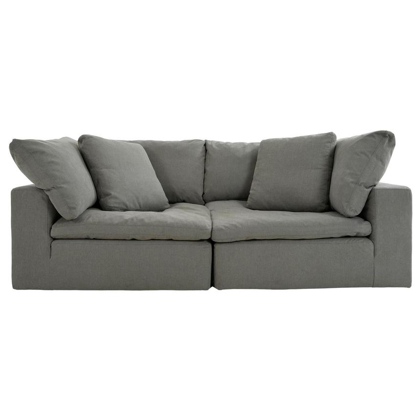 Nube II Gray Sofa  main image, 1 of 6 images.