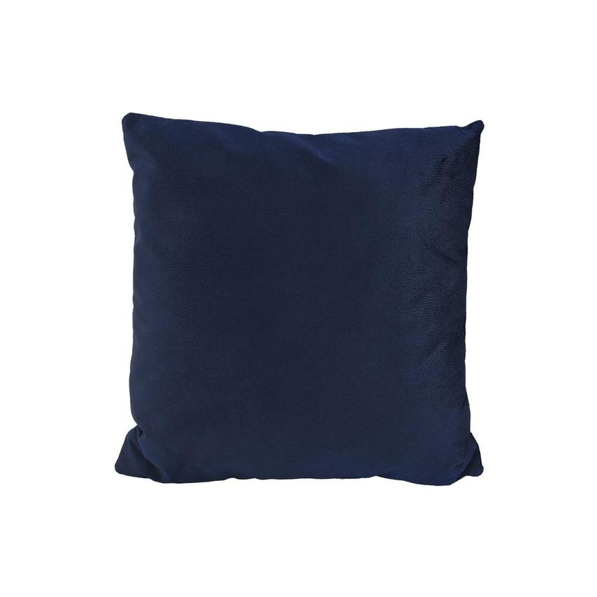 Okru Dark Blue Accent Pillow  main image, 1 of 3 images.