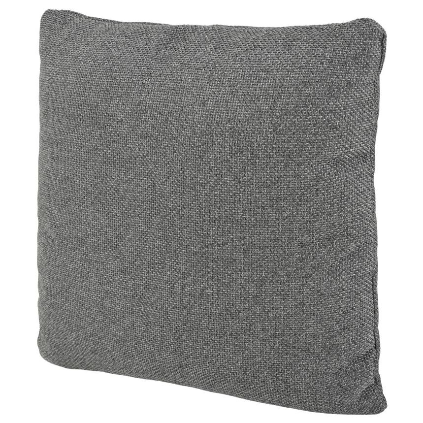 Okru Dark Gray Accent Pillow  alternate image, 2 of 3 images.