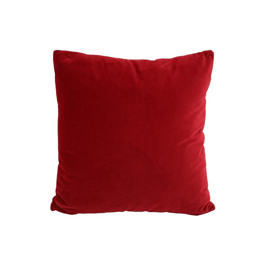 Okru Red Accent Pillow  main image, 1 of 3 images.