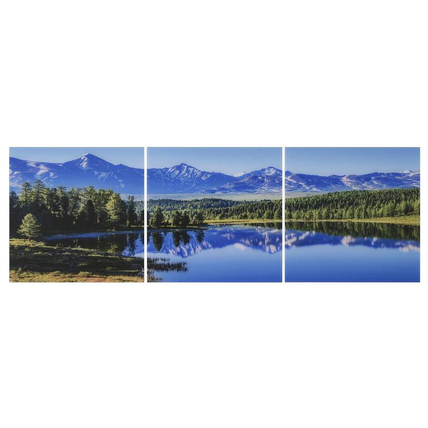 Altai Set of 3 Acrylic Wall Art  main image, 1 of 4 images.