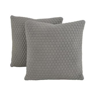 Okru Light Gray Two Accent Pillows
