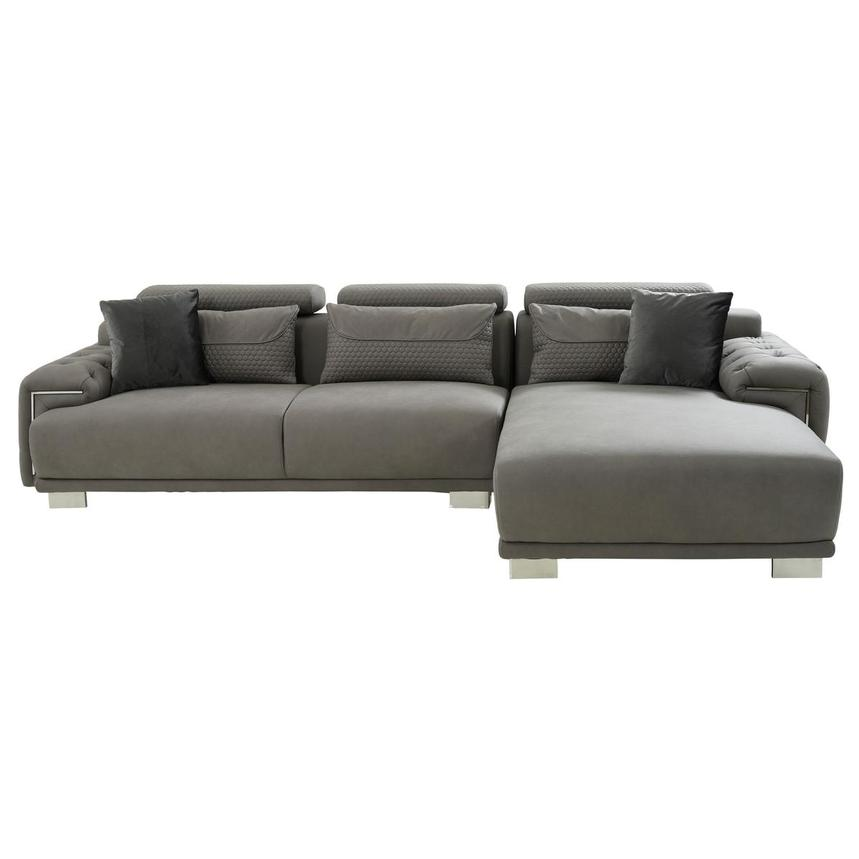 Zulima Corner Sofa w/Right Chaise  alternate image, 2 of 9 images.