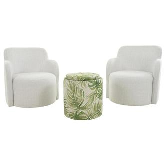 Joey Green 3-Piece Living Set