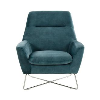 Grigio Turquoise Accent Chair