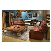 Abilene Leather Power Reclining Sofa  alternate image, 2 of 8 images.