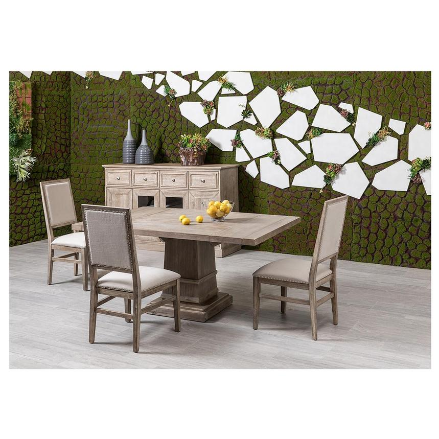 Hudson Gray/Dexter Gray 5-Piece Dining Set  alternate image, 3 of 16 images.