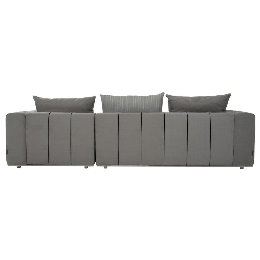 Silvia Sectional Sofa w/Right Chaise  alternate image, 5 of 10 images.