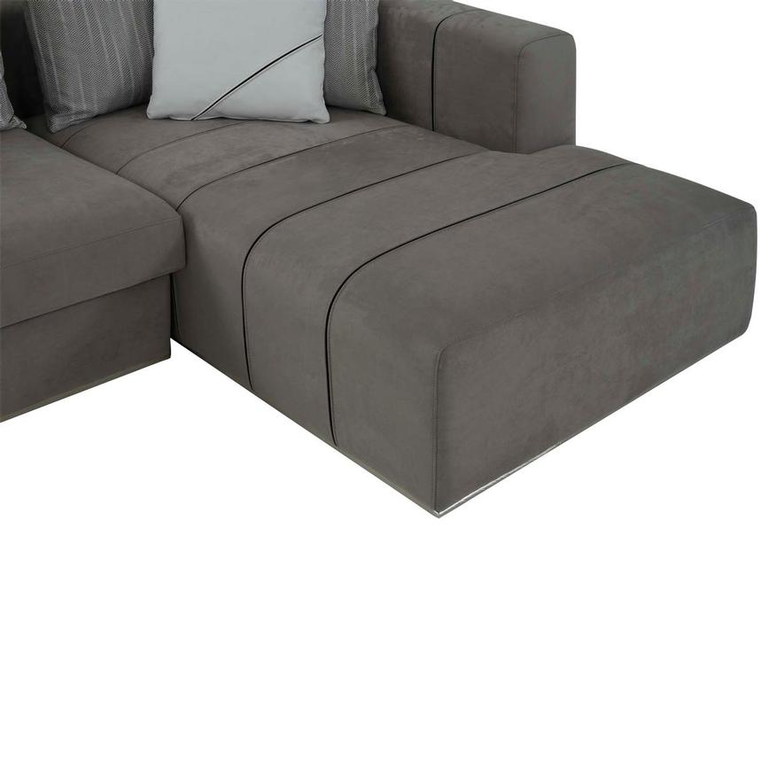 Silvia Sectional Sofa w/Right Chaise  alternate image, 7 of 10 images.