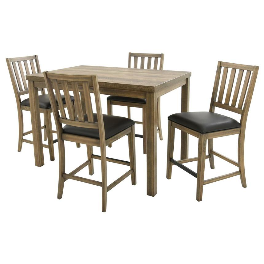 Carlton 5-Piece Counter Dining Set  main image, 1 of 13 images.