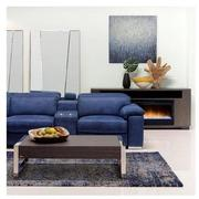 Karly Blue Power Reclining Sectional  alternate image, 2 of 9 images.
