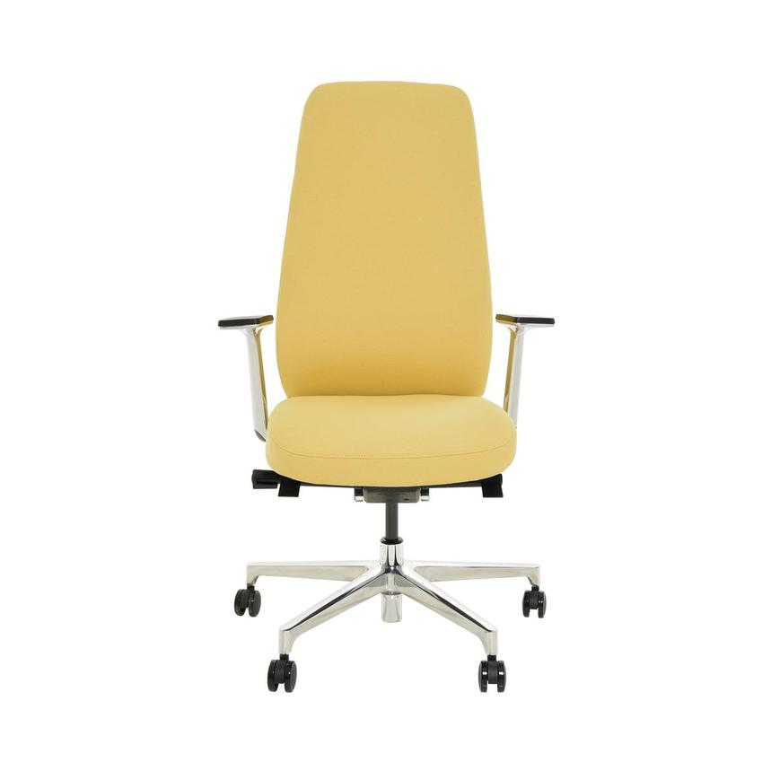 Pepe Yellow High Back Desk Chair  main image, 1 of 10 images.
