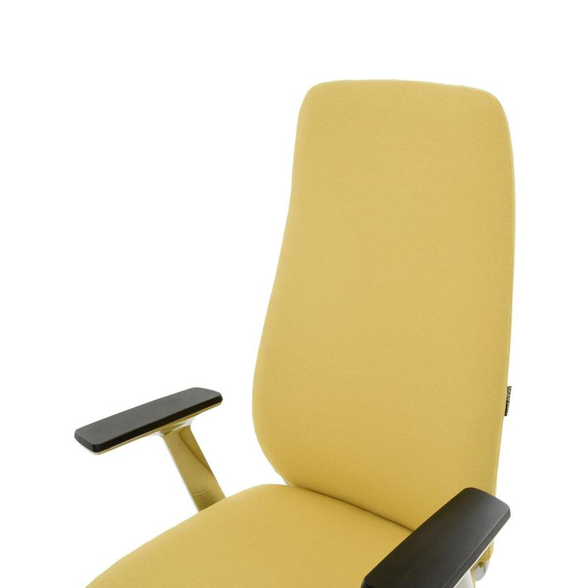 Pepe Yellow High Back Desk Chair  alternate image, 6 of 10 images.