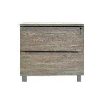 Flavia Gray Lateral File Cabinet