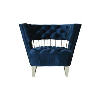Brody Blue Accent Chair