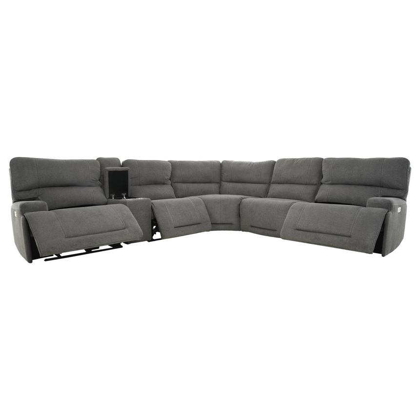 Gibson Power Reclining Sectional  alternate image, 2 of 12 images.