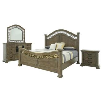 Aurora 4-Piece Queen Bedroom Set