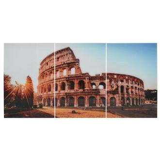 Roma Set of 3 Acrylic Wall Art
