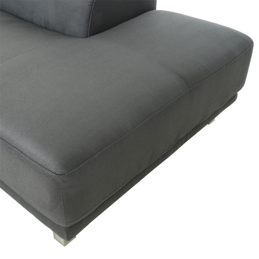 Ilias Gray Corner Sofa w/Right Chaise  alternate image, 8 of 10 images.