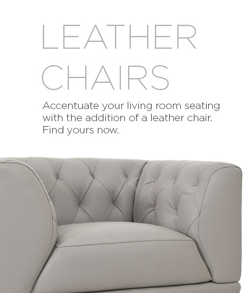 Leather Furniture - Leather Chairs | El Dorado Furniture